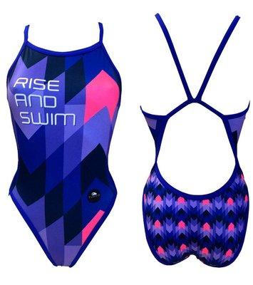 *Special Made* Turbo Sportbadpak Rise and Swim  (levertijd 6 tot 8 weken)