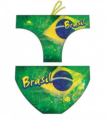 *Special Made* Turbo Waterpolo broek BRASIL  (levertijd 6 tot 8 weken)