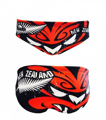 *Special Made* Turbo Waterpolo broek NEW ZEALAND TRAIL MASK (levertijd 6 tot 8 weken)