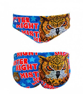 *Special Made* Turbo Waterpolo broek Mr. Night (levertijd 6 tot 8 weken)