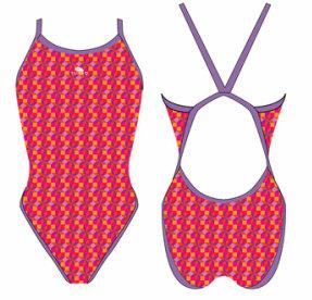 *OUTLET* Turbo swimsuit ROMBUS FR38|D36|M op=op