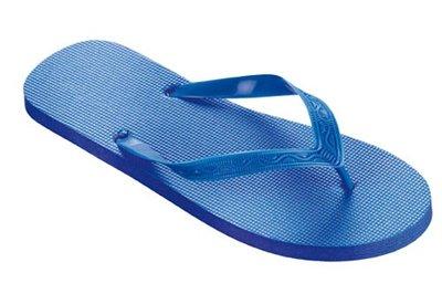 *OUTLET* Beco teenslippers blauw maat 44-45