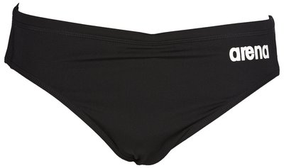 *OUTLET* Arena M Solid Brief black/white 80