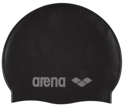 *outlet Arena Classic Silicone jr BLACK/SILVER op=op