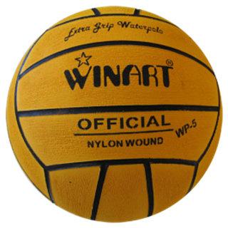 *Voordeelbundel* (10+prijs) Winart waterpolo bal dames maat 4 geel