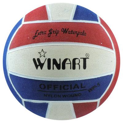 *Voordeelbundel* (10+prijs) Winart waterpolobal dames maat 4 rood-wit-blauw