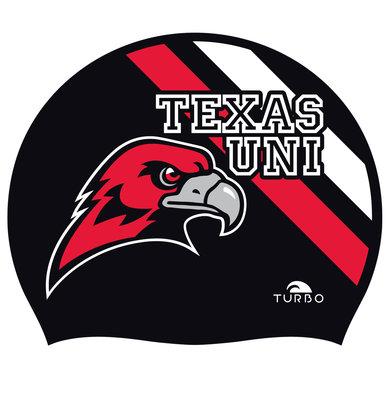 Opruiming *showmodel* Turbo silicone badmuts  Texas College op=op