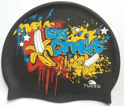 Opruiming *showmodel* Turbo silicone badmuts Canarias Grafica op=op