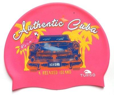 Opruiming *showmodel* Turbo silicone badmuts Cuba Island op=op