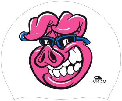 Opruiming *showmodel* Turbo silicone badmuts Piggy op=op