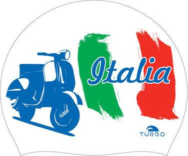 Opruiming *showmodel* Turbo silicone badmuts Italia Wall op=op