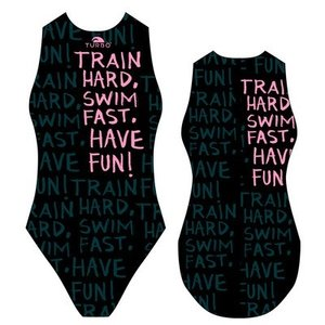 Special Made Turbo Waterpolo badpak TRAIN HARD